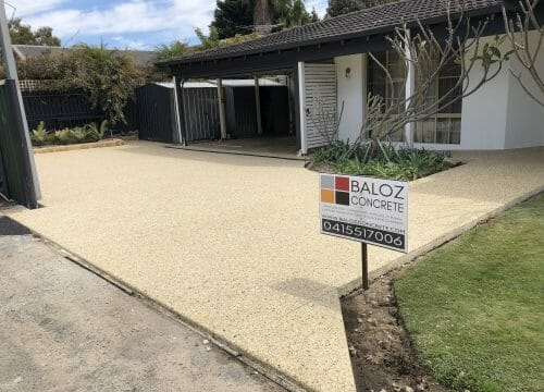 Exposed Aggregate 9