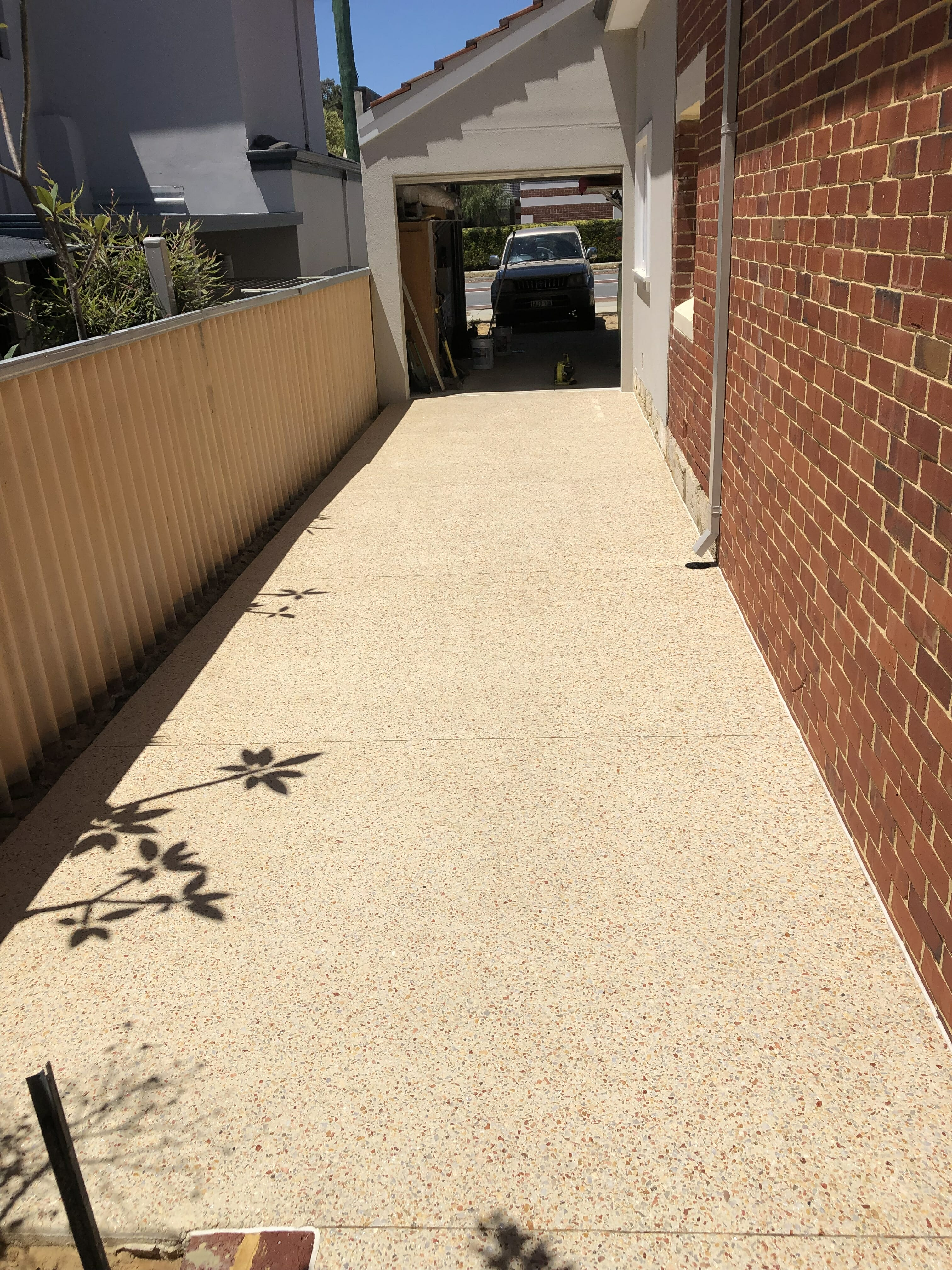 Exposed Aggregate 5 a